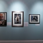 My portrait of the late Alan Sillitoe on display